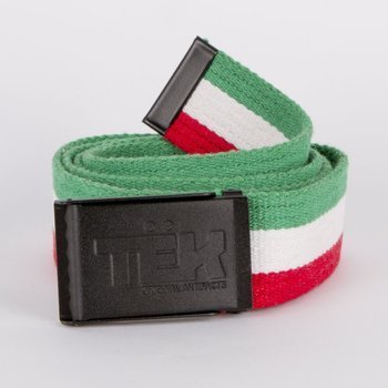 Belt Teknik Classic green/white/red