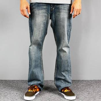 Pants DAGGER blue / normal fit