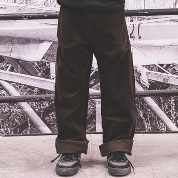 Pants Fenix KGT cord dark brown / normal fit << HIT >>