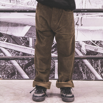 Pants Fenix KGT cord khaki / normal fit << HIT >>