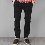 Pants  Malita Chino Check black slim fit