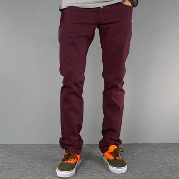 Pants STRIPES maroon NEW slim fit