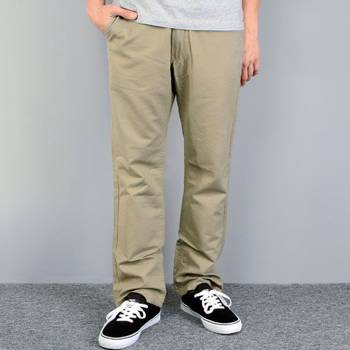 Pants cotton Fenix Skuter  khaki / normal fit << HIT >>