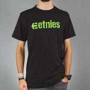 T-shirt Etnies CORPORATE green