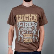 T-shirt LUCHA brown << HIT >>