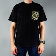 T-shirt Malita Kamo pocket black S15