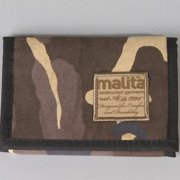 Wallet Malita checked honey