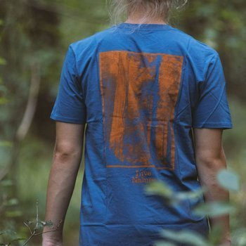 t-shirt Woodcamp LIVE NATURE brown 2017