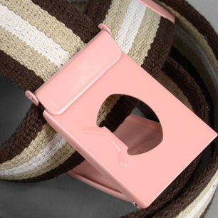 Belt Comb pink/brown