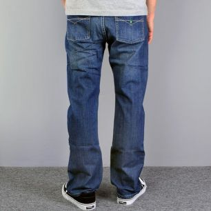 Pants COLOR blue / normal fit