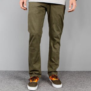Pants ROTTEN Green slim fit