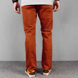 Pants ROTTEN brown slim fit