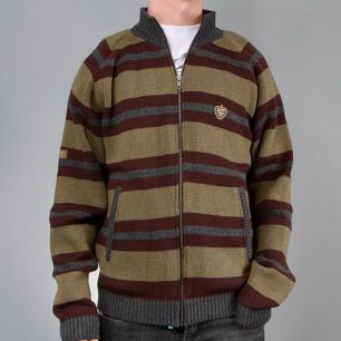 Sweater Fenix S02/F07 hunter khaki/brown