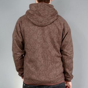 Sweatshirt SILVER green/brown << HIT >>