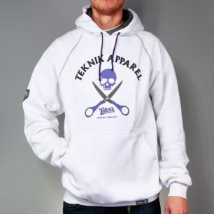 Sweatshirt SKULL white << HIT >>