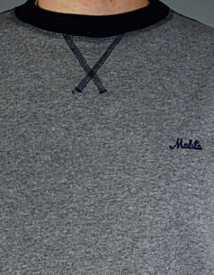 Bluza Malita  heather grey/ navy  simple