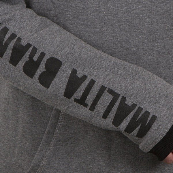 Bluza Malita IN SKATE WE TRUST grey