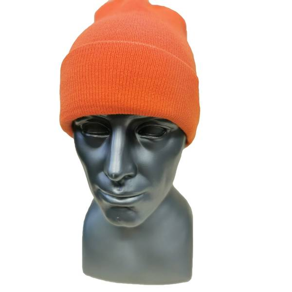 Czapka Malita Lumberjack orange/black