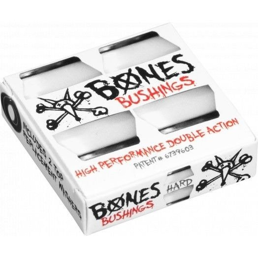 Gumki Bones bushings #3 hard black/white kpl