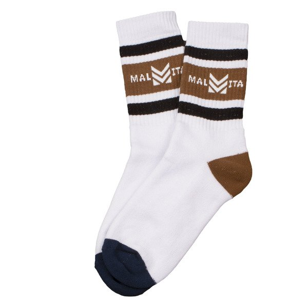 Skarpetki Mlt Royal white/brown