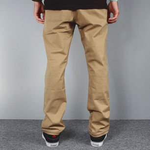 Spodnie CHINO beige carrot fit << HIT >>