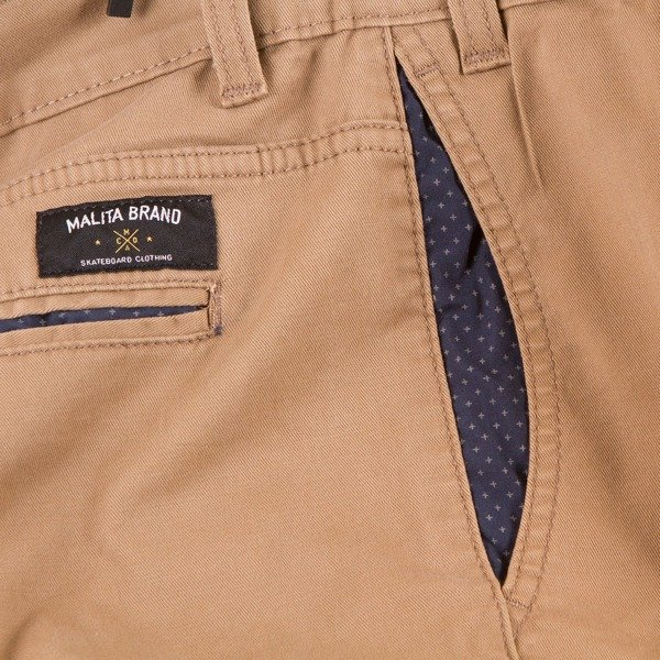 Spodnie Chino low stride beige II