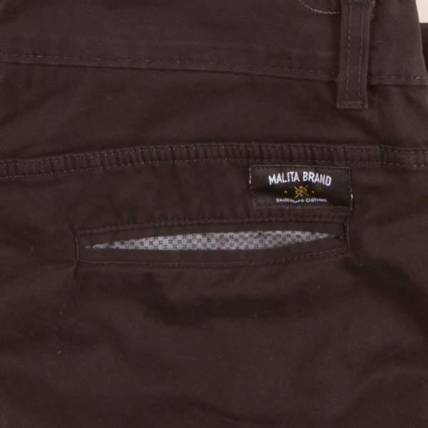 Spodnie Chino low stride black II