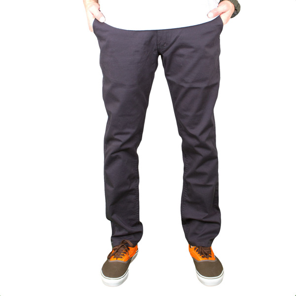 Spodnie M Chino low grey/stripes