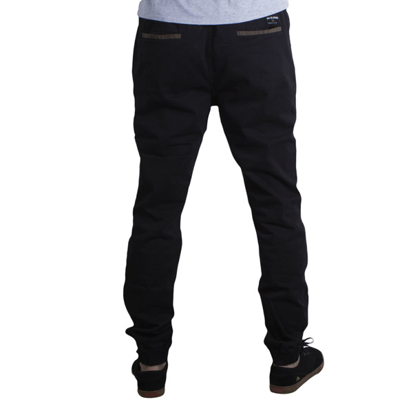 Spodnie M Jogger Black Stripes